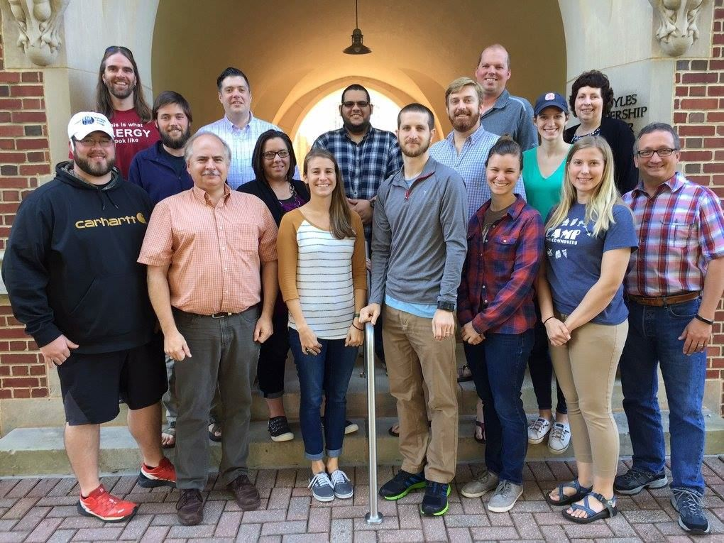 Students in Compass Points Program Development course Oct 2017